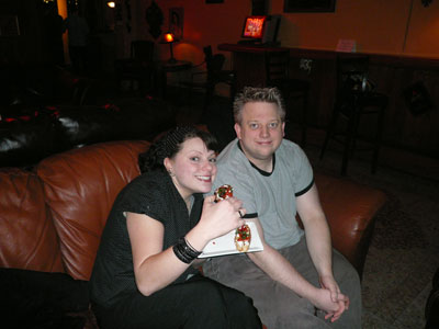 Jess and Friend Skeptics in the Pub