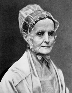 Photograph of Lucretia Mott