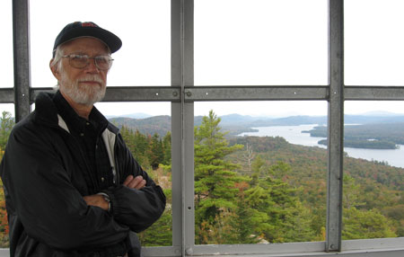 Bryce Hand at Bald Mt. Tower in 2006